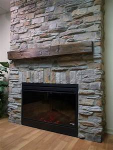 Fireplace barn board mantel beams google search for Barn board mantel