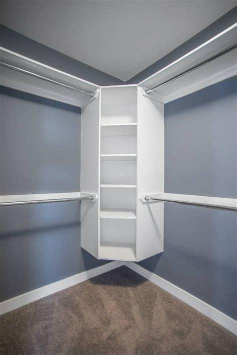 walk  closet  floating corner shelves  closet