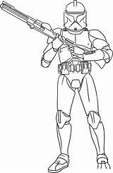 Wars Star Coloring Rex Camander Clone Trooper Pages Arc Case Again Bar Looking Don sketch template