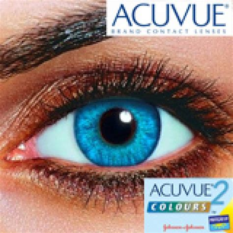 lentes de contato acuvue  colours johnson johnson