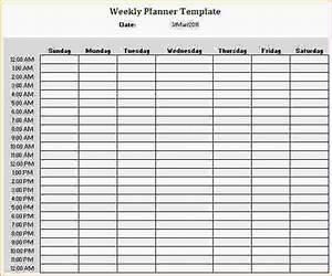 hourly calendar daily planner template printable daily With daily hourly planner template excel