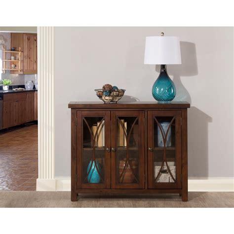 bayside cabinets hillsdale furniture bayside rustic mahogany 3 door cabinet
