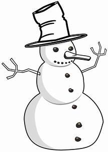 clipartist.net » Clip Art » jean victor balin snowman ...