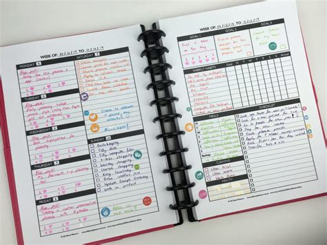 design your own planner the create your own planner kit 108 printable pages to