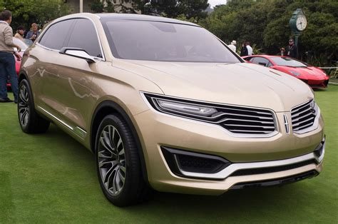Lincoln Mkx Concept Front Side View Photo 27
