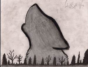 Howling Wolf Drawing by Cheshire-Kitteh.deviantart.com on ...