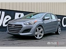 Hyundai Elantra with 19in TSW Bristol Wheels exclusively