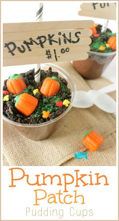 original diy pumpkin patch pudding cups  fall