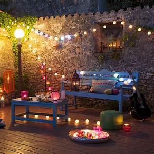 Guirlande Lumineuse Maison Du Monde : des astuces d co pour votre terrasse ou votre jardin ~ Teatrodelosmanantiales.com Idées de Décoration