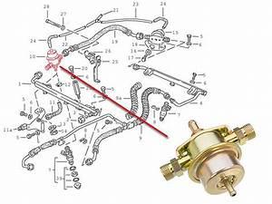 Porsche 911 3 2 928s Fuel Pressure Regulator Bosch Gas