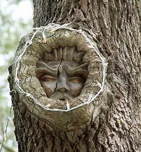 Tree faces for Tree spirit carvings by keith jennings