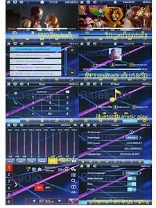 Car Dvd Usb Mp3 Player Stereo Radio Head Unit For Toyota