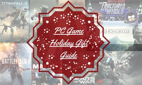 holiday gift guide for gamers pc games avadirect