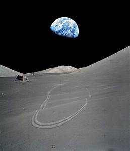 Where did the saying 'Apollo or USA faked moon landing ...
