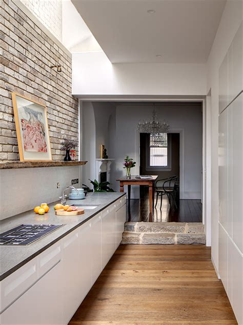 Lighting For Kitchens Ideas - home dzine kitchen kitchen goes from and dingy to light and mod