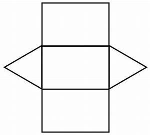 Triangular prism net | Math | Pinterest