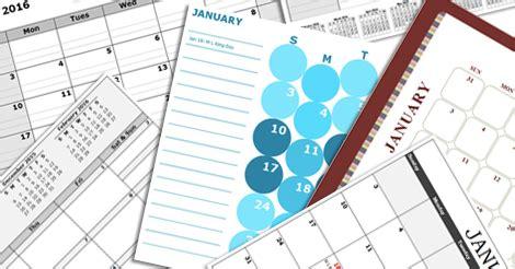 excel calendar template   printable excel