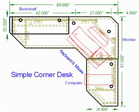 corner desk design plans free corner computer desk woodworking plans woodworktips