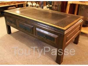 Table Basse Chinoise : table basse chinoise 6 tiroirs h 45 cm ardennes ~ Melissatoandfro.com Idées de Décoration