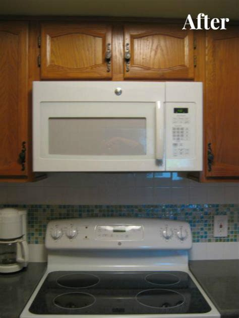 installing used kitchen cabinets retrofitting kitchen for the range microwave 4762