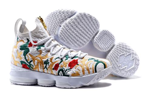 nba basketball court kith x nike lebron 15 floral for sale newest yeezy