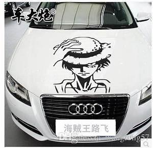 Autocollant Personnalisé Pour Voiture : sticker autocollant bande capot de voiture damier en ~ Voncanada.com Idées de Décoration