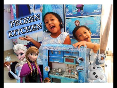 frozen kitchen main masak masakan sama elsa  anna
