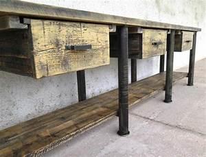 Vintage Industrial Möbel : industrial tisch industrial m bel antik ~ Bigdaddyawards.com Haus und Dekorationen