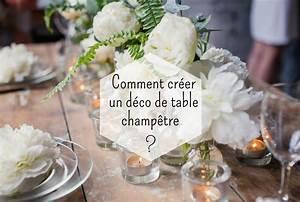 Deco De Table Champetre : deco table champetre mariage zenika ~ Melissatoandfro.com Idées de Décoration