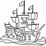 Coloring Ship Pirate Pages Drawing Ships Navy Cruise Easy Colouring Viking Simple Drawings Sunken Printable Sea Sheets Line Template Clipartmag sketch template