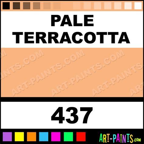 pale terracotta paint color pale terracotta galeria acrylic paints 437 pale