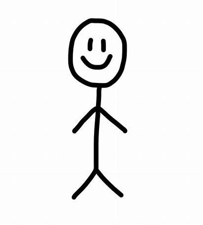 Stick Figure Face Draw Clipart