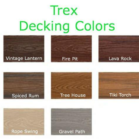 composite colors trex decking colors 55
