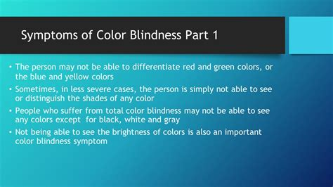 color blindness symptoms color blindness by stroud conor presto ethan