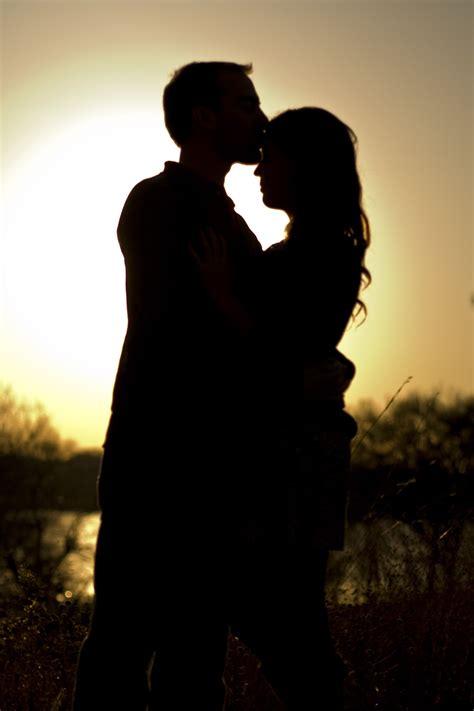 silhouette love  years love couple  couple