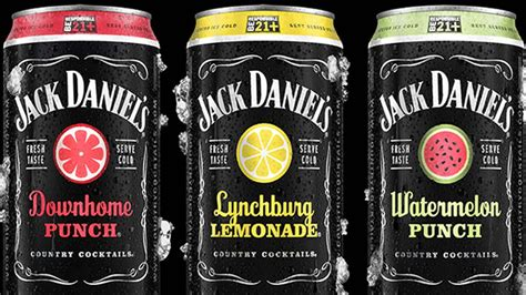 For southern citrus, we used the ripe. Jack Daniel's Country Cocktails | Dieline