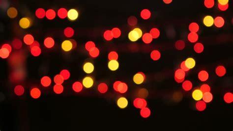 black and gold christmas lights christmas lights defocused black background stock footage video 5187911 shutterstock