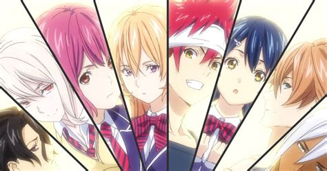 food wars   plate mid series anime review