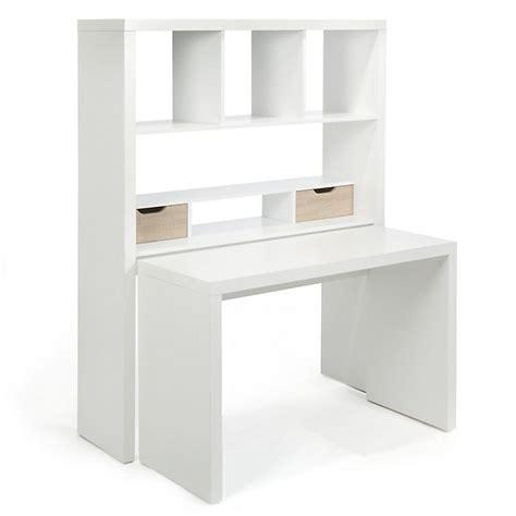 bureau ordinateur alinea bureau modulable avec étagères et tiroirs twisty bureau