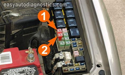 part    test  cooling fan motors ford escape
