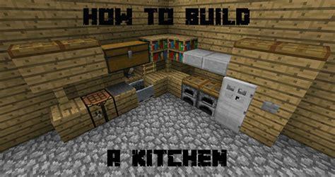 build  kitchen  minecraft youtube