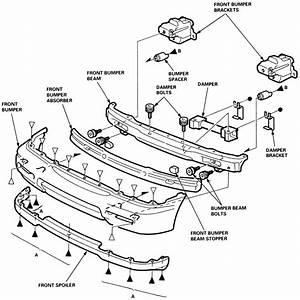 2003 honda accord front bumper diagram html With diagram turbo parts diagram 1998 honda accord ex coupe 1997 ford f 150