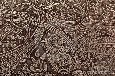 leather floral pattern background stock photo image