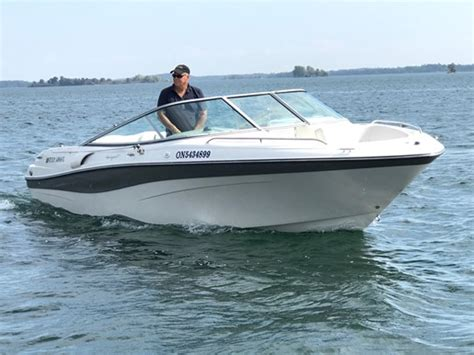 Four Winns Boats Ontario by Four Winns 230 Horizon 2000 Used Boat For Sale In
