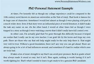 sample of personal statement for postgraduate application