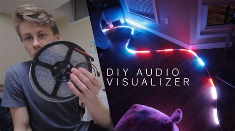 diy led visualizer real time animations arduino