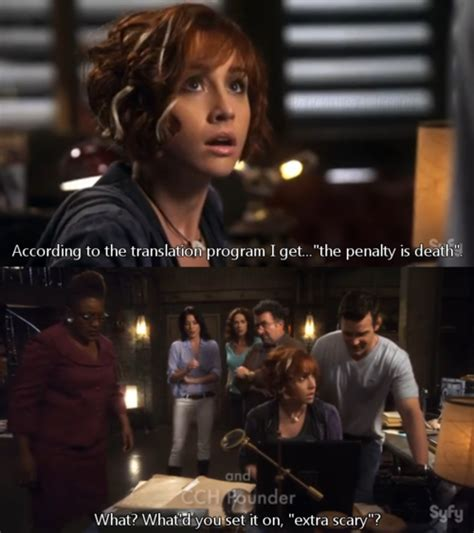 warehouse claudia warehouse13 donovan makes happy unbelievable awesomeness favorite allison scagliotti shows funny pete pm posted scary extra