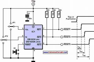 Reset Sequencer Circuit Diagram