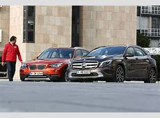 BMW X1 vs MercedesBenz GLA Quick Comparison autoevolution