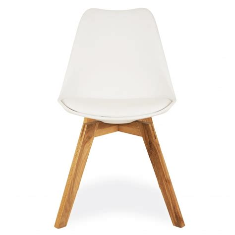 cherner chair view all cherner style white dining chair crossed oak wood legs